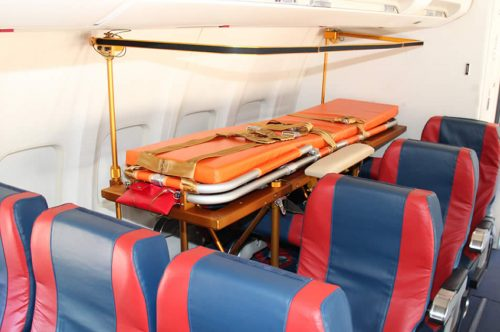Albastar equips its fleet of Boeing 737 with medical stretchers