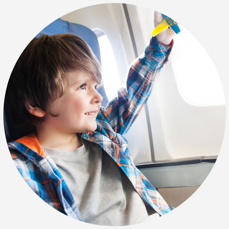 minori non accompagnati a bordo dei voli albastar