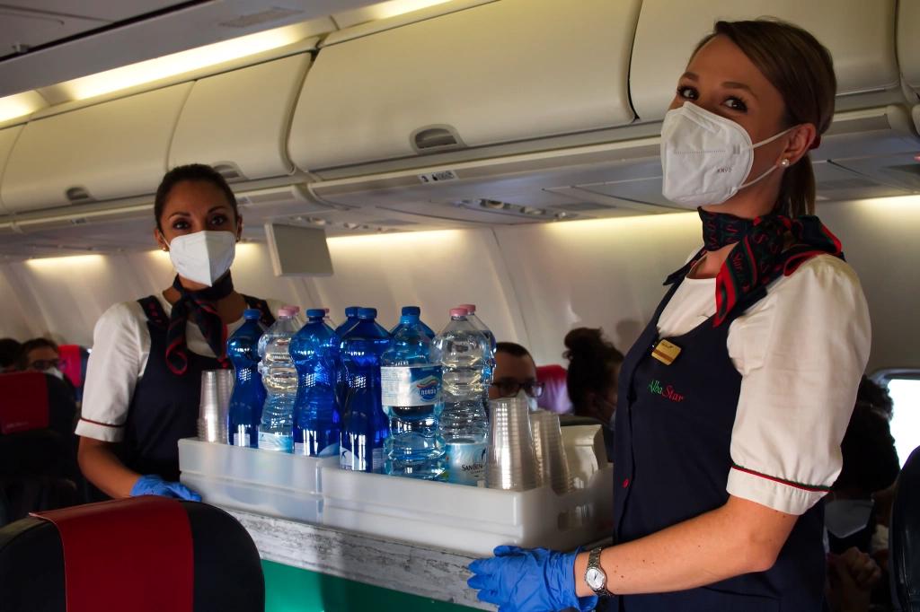 Procedure sicurezza a bordo Covid19 Albastar compagnia aerea